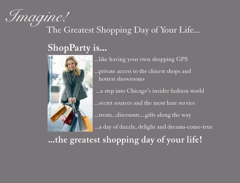 ShopParty is the greatest shopping day of your life
