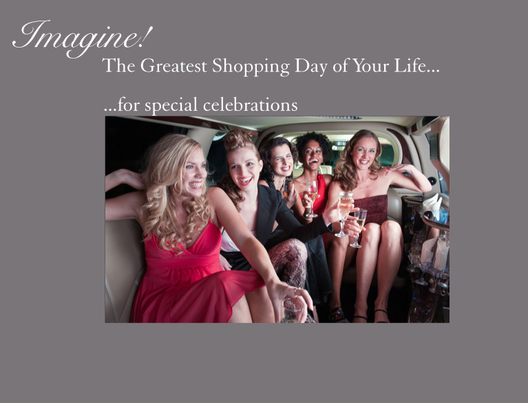 The greatest shopping day of your life shop for a celebration
